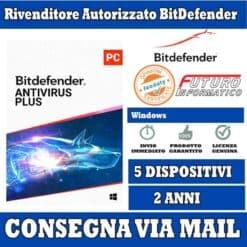 Bitdefender Antivirus 5 pc 2 Anni