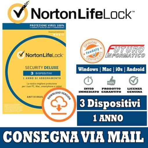 Norton Security Deluxe 3 PC