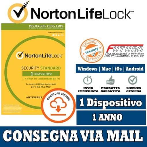 Norton Security Standard 1 Computer