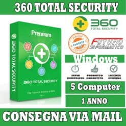 360 total security premium 5 pc